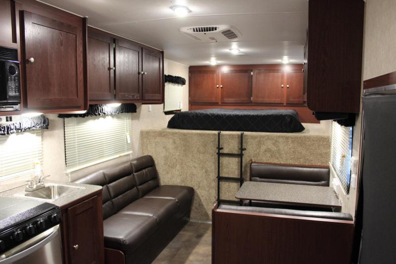 **SOLD**CYBER WEEK SALE SAVE $9332 2021 53' Millennium Silver 16' Bunk Living Quarter Sleeps 8 Large Bathroom
