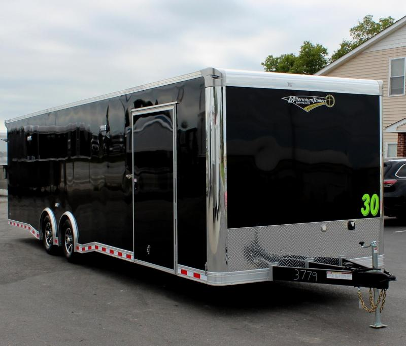 <b>NOW READY!</b> 2021 30' Millennium Extreme Wing/Finished Interior/Spread Axles & More!