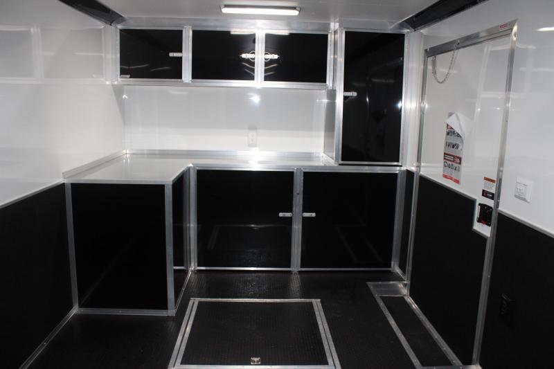 32' ALL ALUMINUM FRAME Millennium Extreme Black Cabinets FREE Escape Door