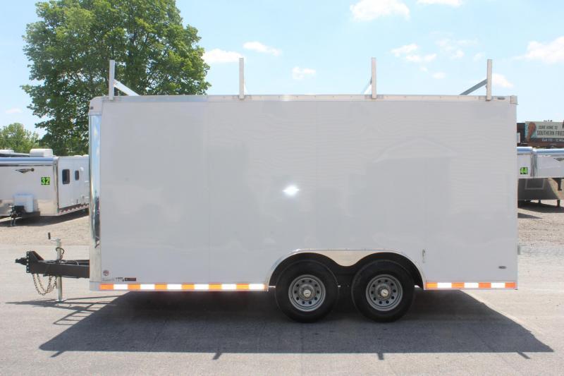 <b>Call For Details Contractor's Dream Trailer</b> 8.5 x 16' Millennium Work Mate Enclosed Cargo Trailer