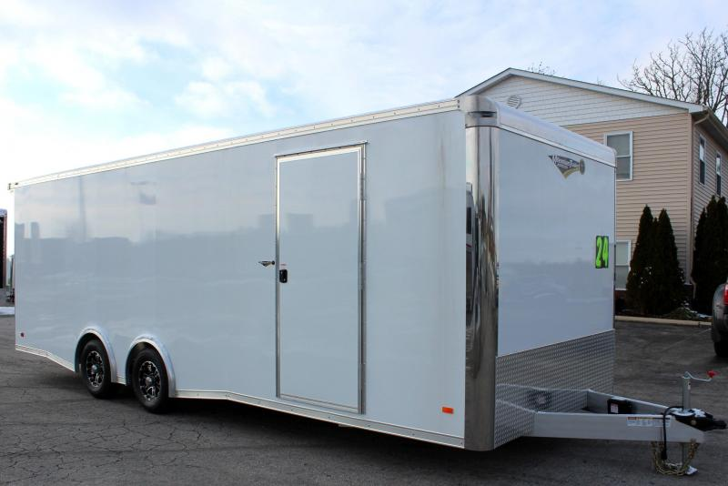ALL ALUMINUM 24' Millennium Extreme Lite Car Trailer