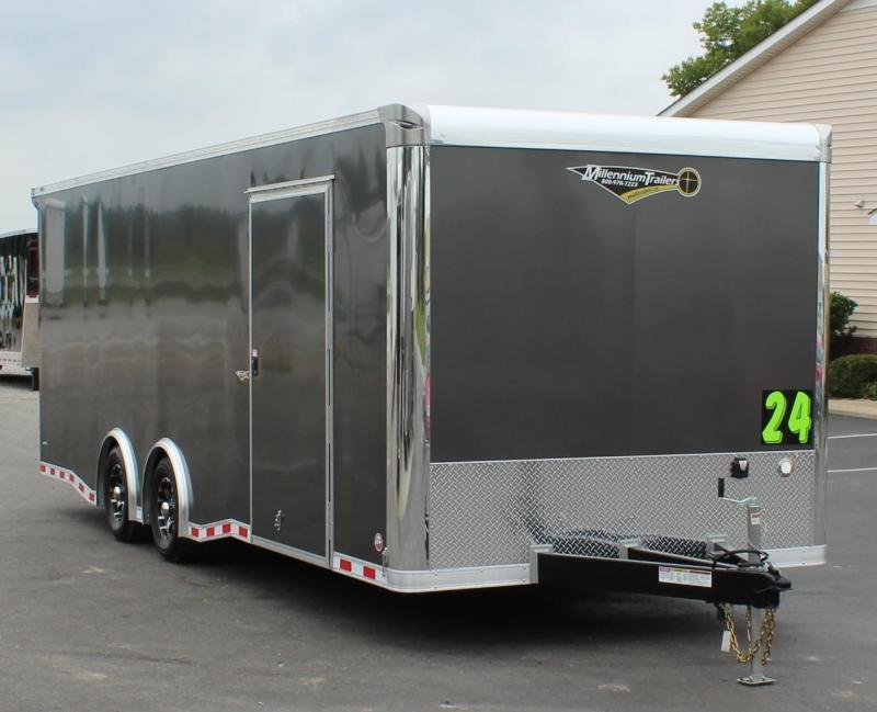 <b>READY 8/20</b> 2021 24' Millennium Extreme Race Trailer LOADED