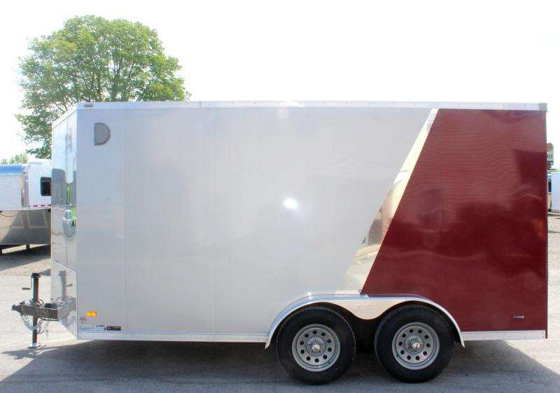 7' x 14' Scout Enclosed Cargo Trailer with Ramp Door