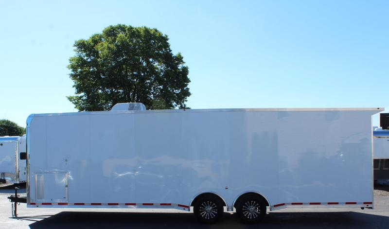 <b>TOTALLY LOADED!</b>  2020 30' Millennium Platinum Car Trailer w/Electric Awning
