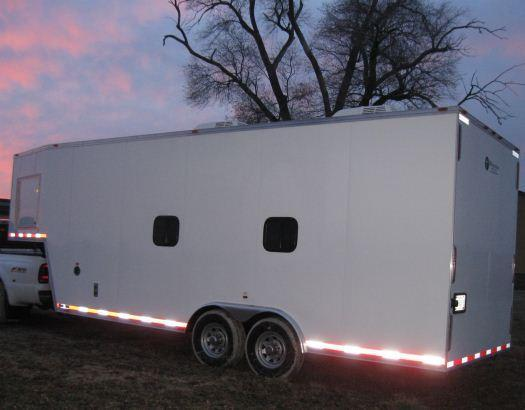 Millennium Trailers 28' Custom Calibration Trailer
