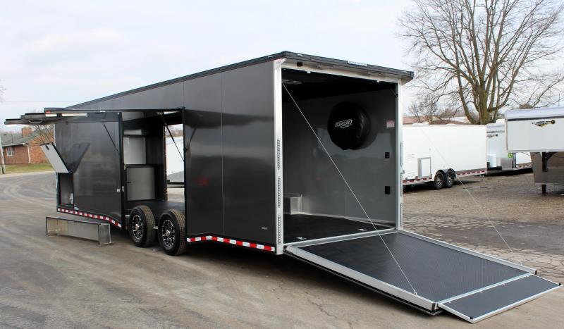 <b>Your Wait is Over! Now Available</b>  28' All Aluminum with Lrg. Escape Door w/Removable Wheel Box