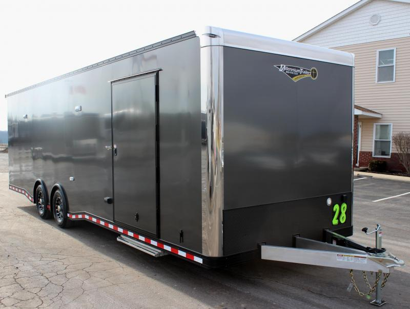 <b>SOLD & MAKING MORE</b> 28' All Aluminum with Lrg. Escape Door w/Removable Wheel Box A/C & Electric Jack