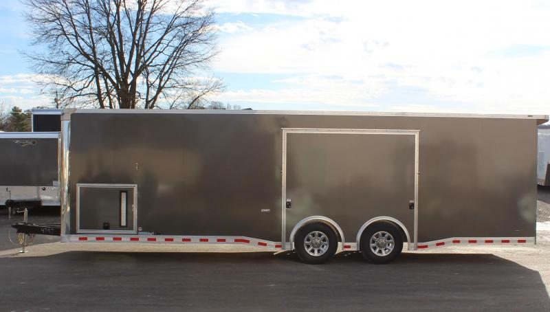 NEED EASY EXIT ACCESS? 2021 28' Millennium Extreme Spread Axles/Rear Wing/Removable Fender!