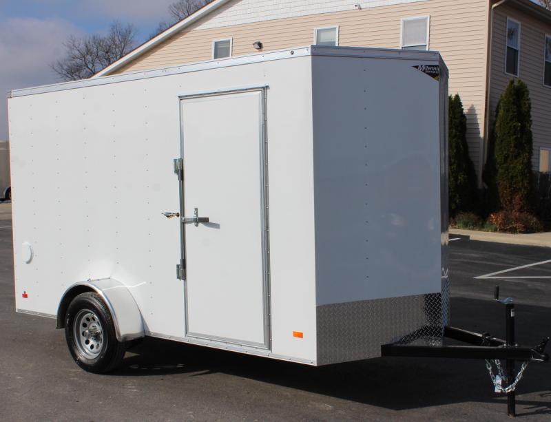 NOW AVAILABLE  2021 6'x12' Hero Enclosed Cargo Trailer Ramp Door &  6