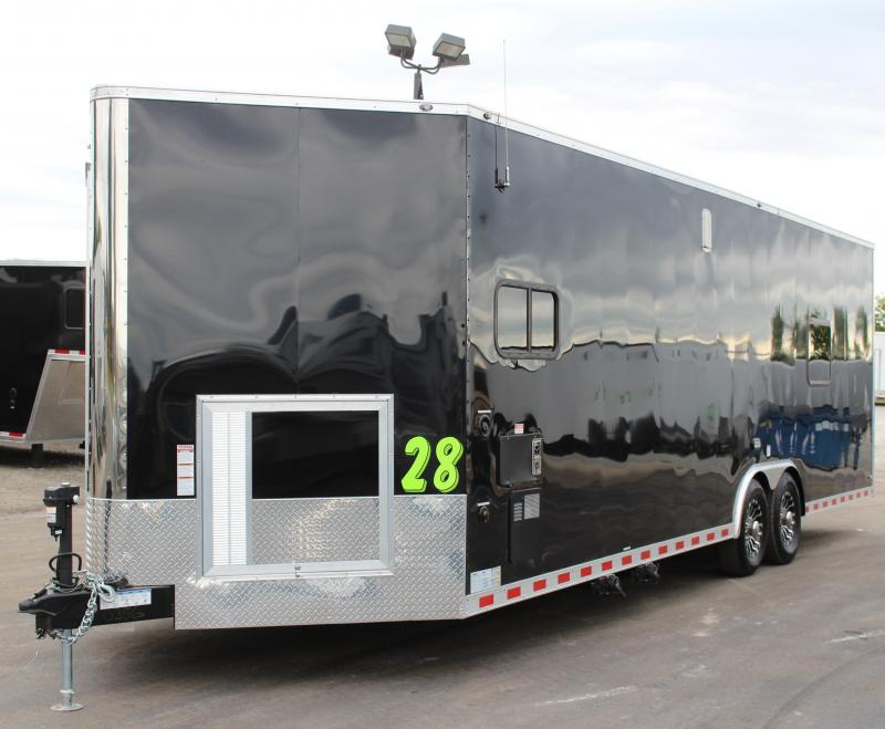 <b>ORDERS ONLY</b>  28' Millennium Auto Master Enclosed Trailer Toy Hauler w/Living Quarters