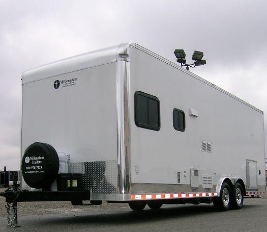 Custom Millennium Trailers 24' Command Center Trailer