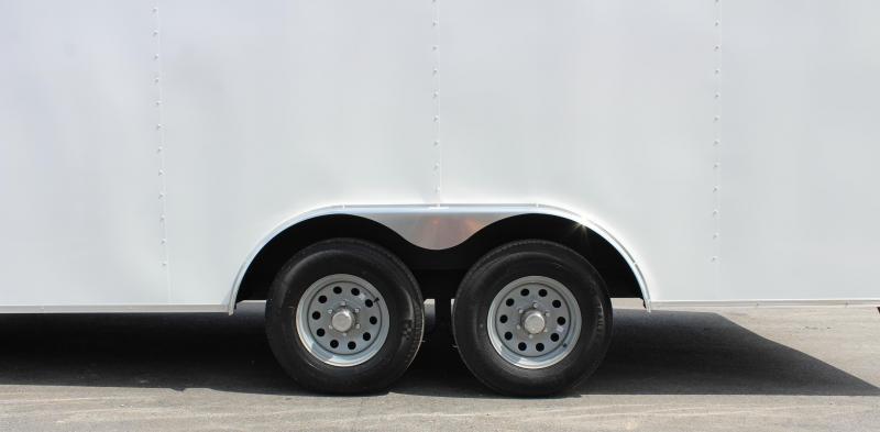 <b>IN PROCESS SPECIAL</b> 2022 20' 2022 Millennium Chrome Enclosed Trailer Heavy Duty Axles