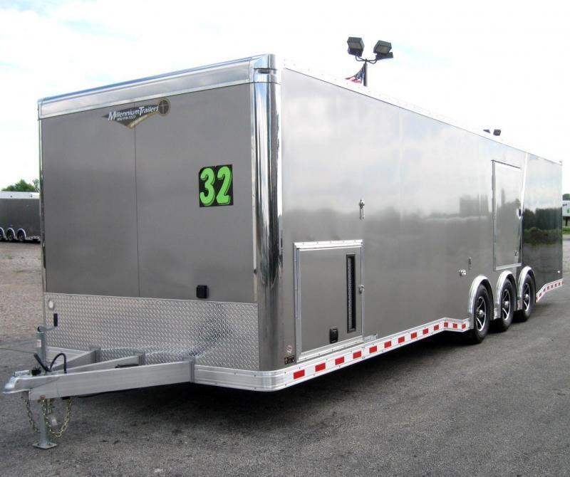 32' All Aluminum Frame Millennium Extreme Black Cabinets/FREE Escape Door