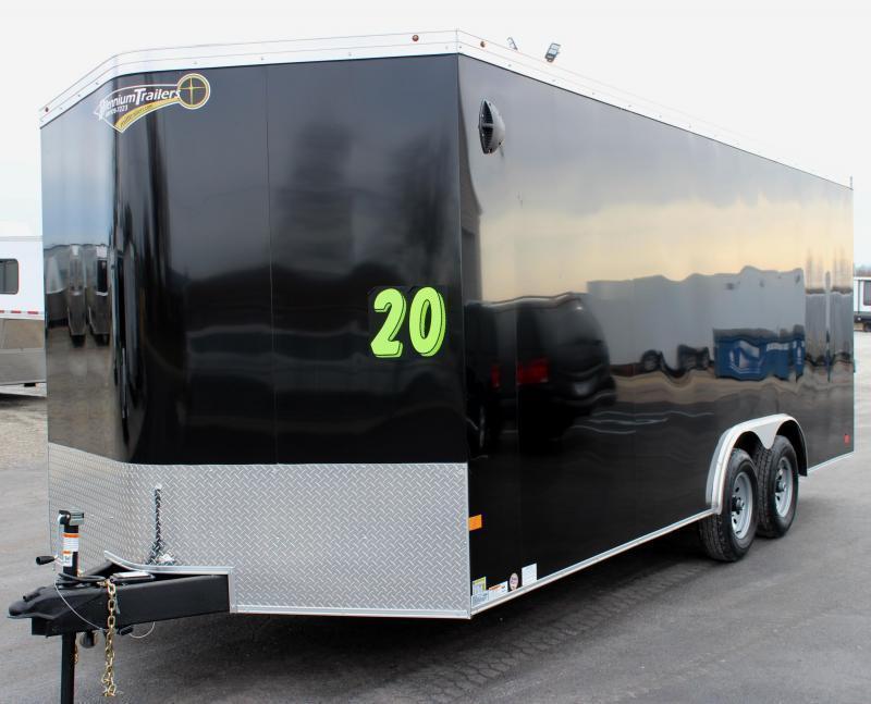 <b>IN PROCESS SPECIAL</b> 2022 20' Transport V Car Trailer w/Heavy Duty 5200# Axles & Screwless Exterior 7' Interior