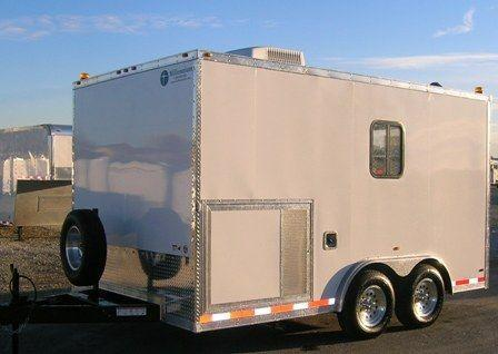 Custom Fiber Optic Splicing Enclosed Trailer