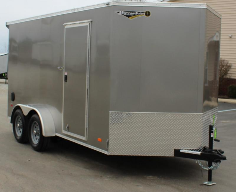 7' x 14' Millennium Scout w/Lighted Wing & Ramp Door