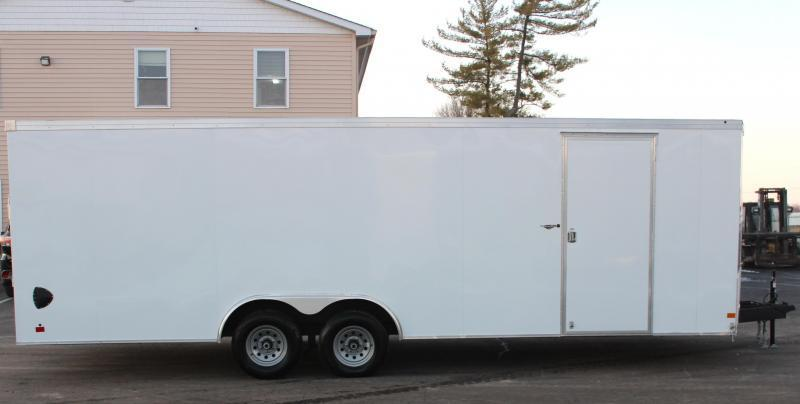 <b>Easy on the Wallet</b>  2021 24' Transport V Car Trailer w/HD 5200# Axles & Screwless Exterior