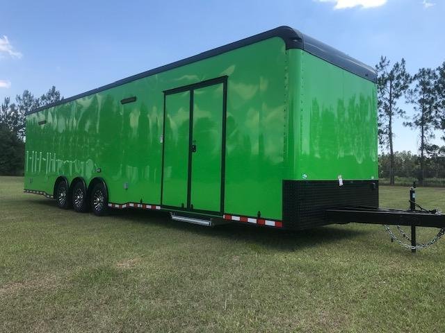 <b>NOW Order in Green/Blue or Red</b> 2021 34' Triple Axle Automaster  w/Wing