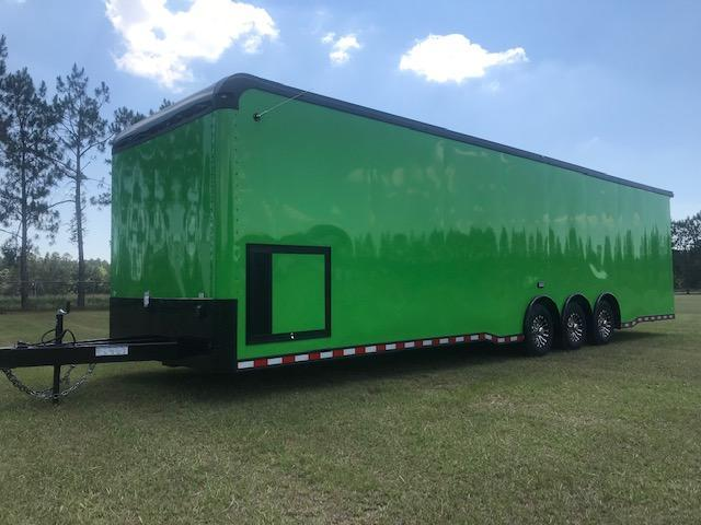 34' Triple Axle Automaster  w/Wing