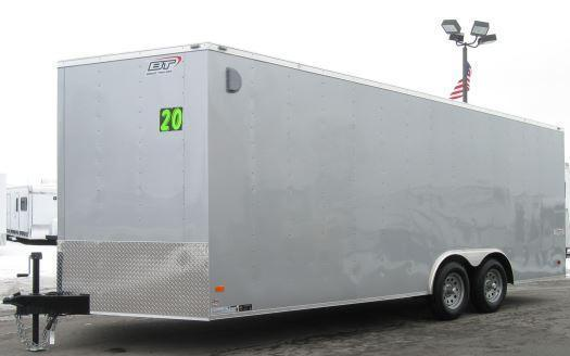 20' Scout Enclosed Cargo Trailer