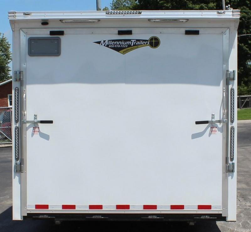 <b>IN PROCESS SPECIAL DUE DEC.</b> BLACK OR WHITE   34' 2022 Millennium Extreme Spread Axle/Wing/Loaded