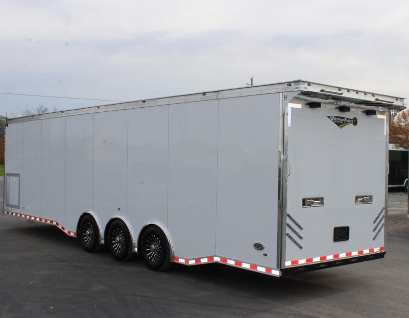 <b>IN PROCESS SPECIAL</b> NEW BUNDLED BURN-OUT PACKAGE  2022 32' Edge Race Ready Trailer  3/6k Triaxle