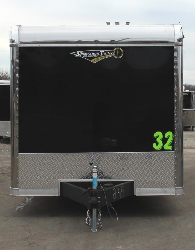 BURN-OUT PACKAGE  2021 32' Edge Race Ready Trailer  3/6k Triaxle