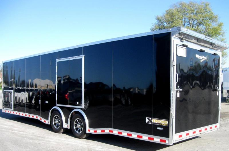 30' ALL ALUMINUM Frame Extreme Red Cabinets/Wing/Escape Door