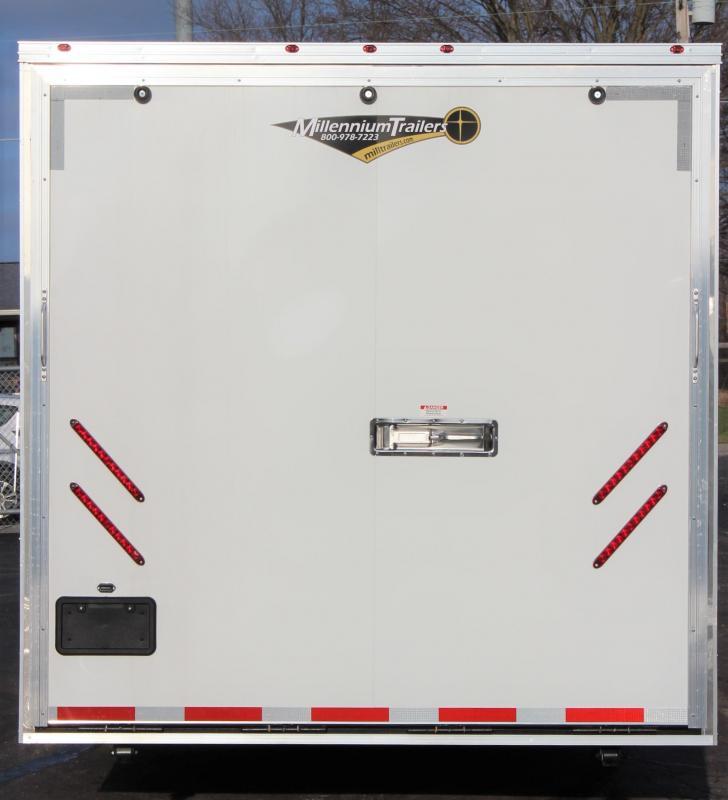 2021 53' Millennium  Gooseneck  3/7K Axles Dble Recessed E-Track
