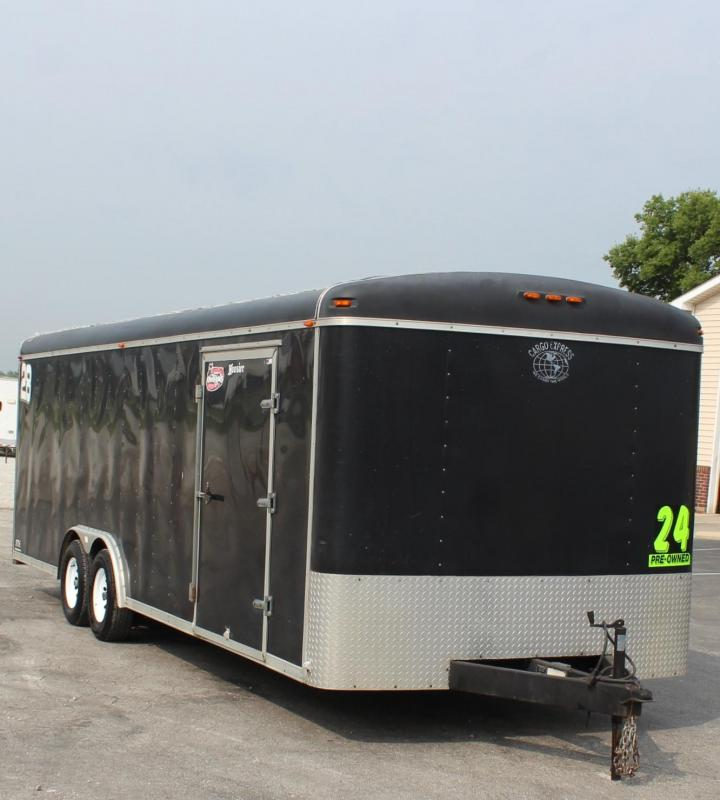 <b>PRE-OWNED TRADE IN</b> 2001 Cargo Express Cargo Express Car / Racing Trailer