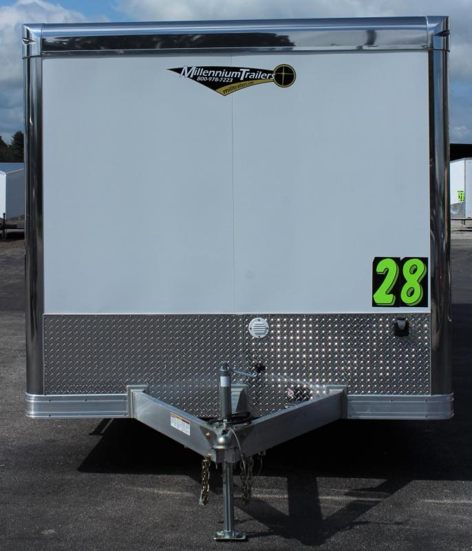 <b>NOW READY</b> 2021 28' Millennium Extreme ALUMINUM FRAME w/Blk Cabs w/Rear Wing