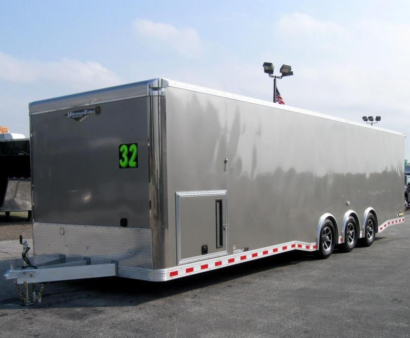 ALL ALUMINUM FRAME 32' Millennium Extreme Black Cabinets & Wing