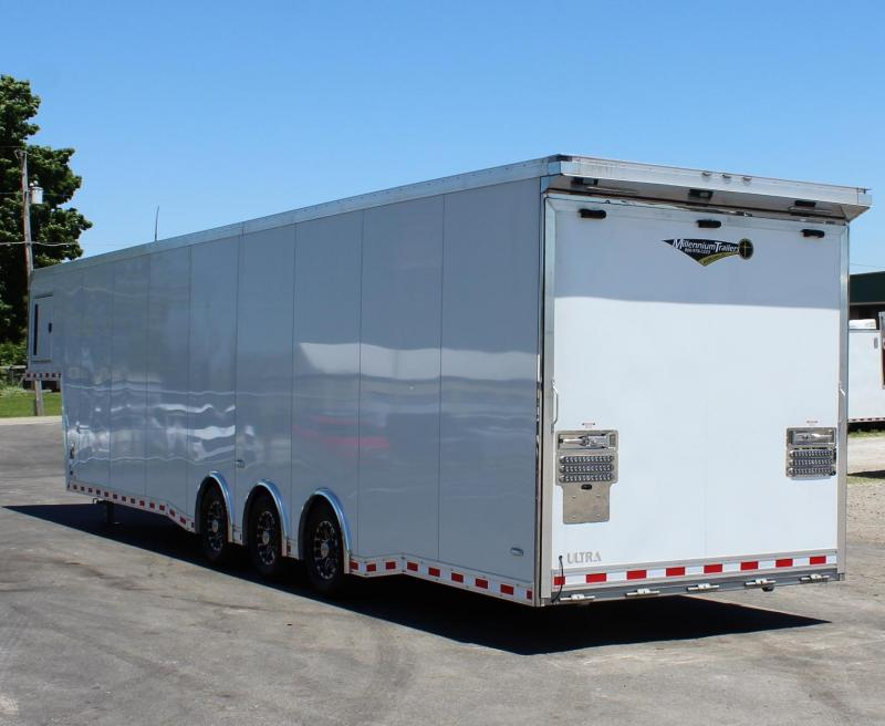 "<b>NOW AVAILABLE</b> 2020 40'  Icon Gooseneck 96"" Wide Ramp Door"