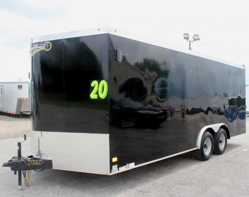 Deluxe Interior Pkg 2020 Screwless 20' Haulmark Transport Car / Racing Trailer HD Axles