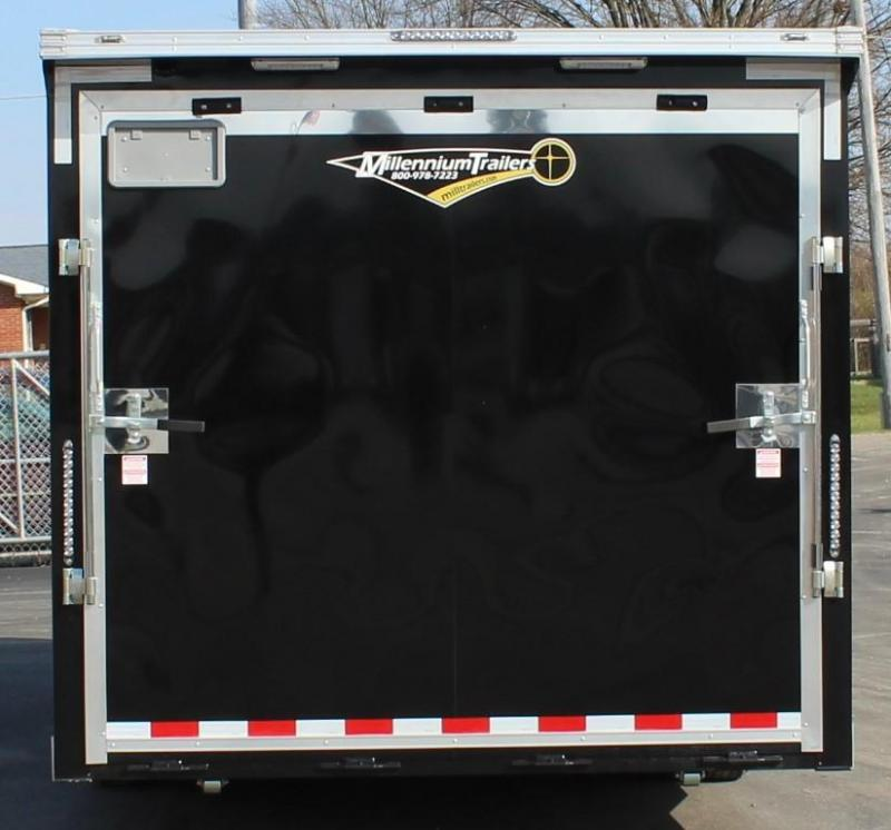 Easy-Exit Trailer 2021 24' Black Millennium Extreme with Removable Fender  & Rear Wing