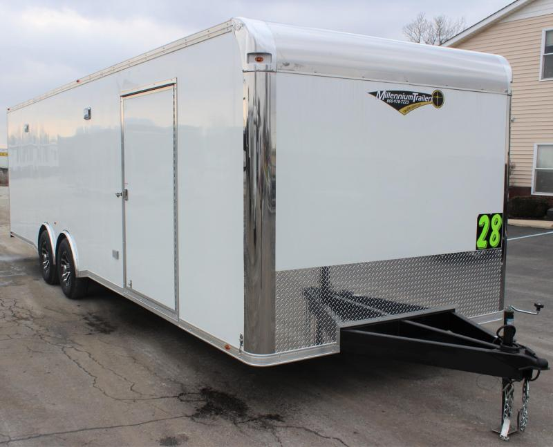 <b>ORDERS ONLY</b> 28' Millennium Platinum Racing Trailer