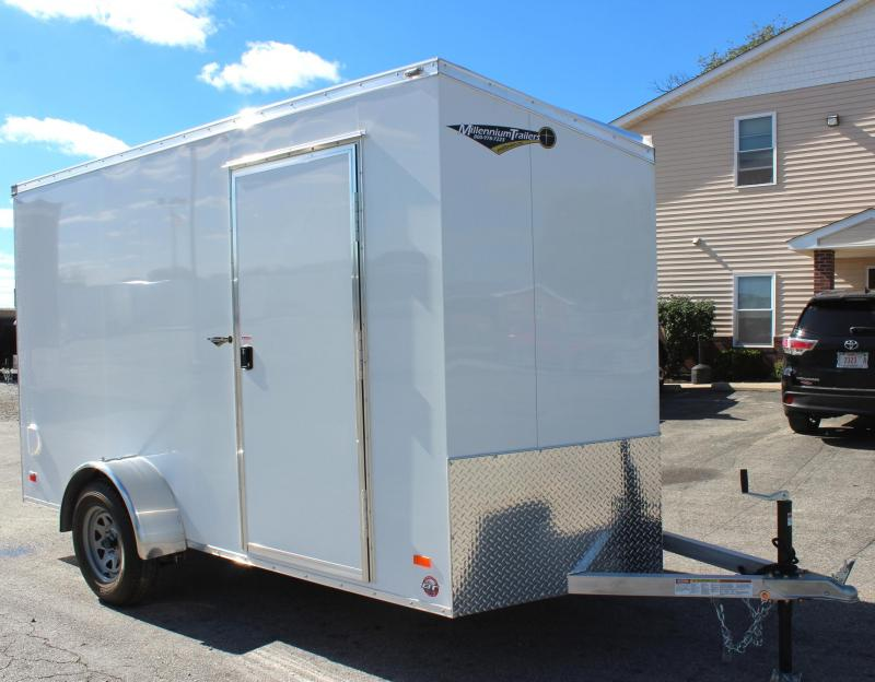 <b>Weekly Special CLEARANCE LAST ONE! </b> 2019 6' x 12' All Aluminum Scout Cargo w/Ramp Door