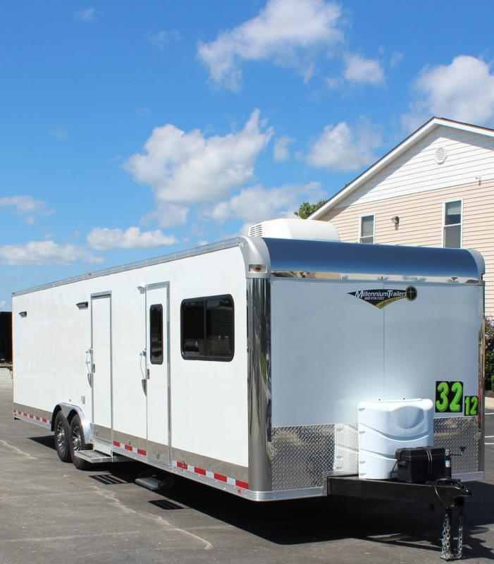 SALE PENDING SKIP THE HOTELS!  2020 Millennium 32' 12'XE Living Quarters  19' 6