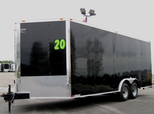<b>SOLD MAKING MORE!</b>  2022 20' Millennium Chrome 5200# Heavy Duty Axles