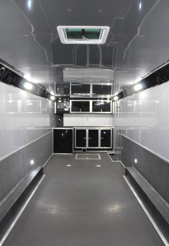 NEW BUNDLED BURN-OUT PACKAGE  2020 32' Edge Race Ready Trailer  3/6k Triaxle
