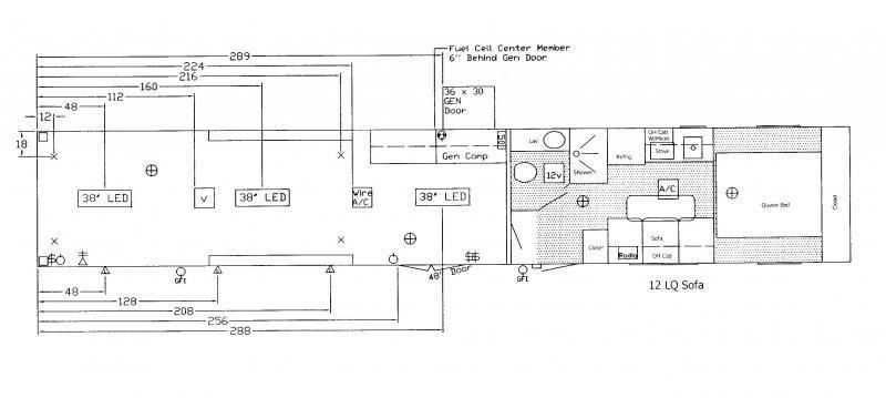<b>DRAGSTER PACKAGE LQ</b> 2020 48' Millennium Silver Gooseneck w/12S + 8' Premium Living Quarters