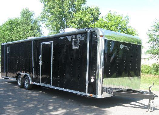 Custom 30' Command Center Enclosed Trailer