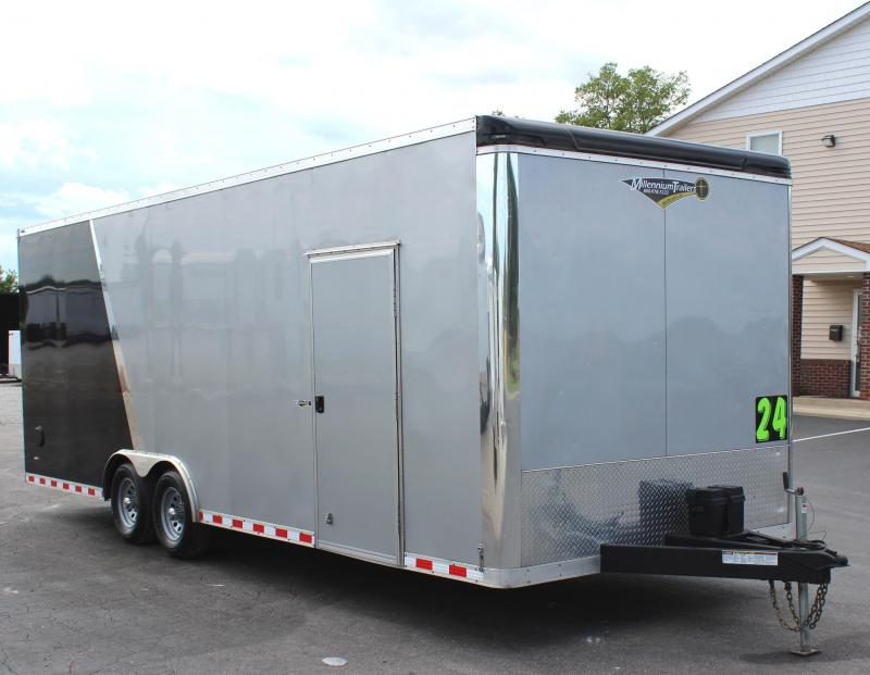 <b>Weekly Special</b> Pre-Owned 24' 2019 Millennium Race Trailer