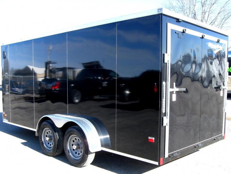 7'x16' Scout Enclosed Cargo Trailer with Plus Pkg. PLUS Free Options