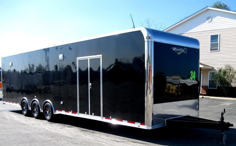 2020 34' Millennium Platinum Trailer with Full Bathroom