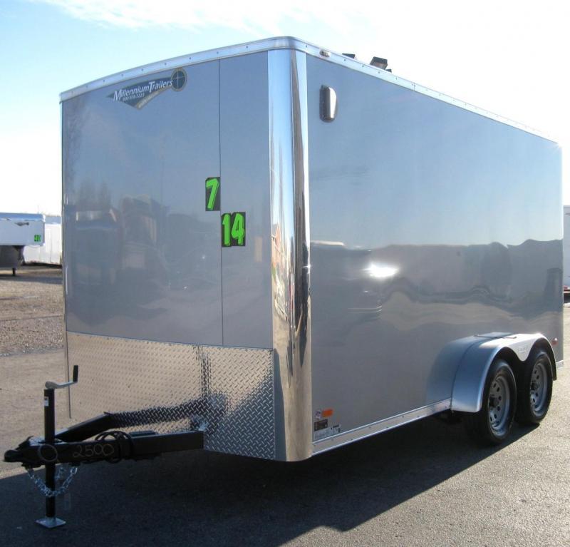 7'x14' Scout Cargo Plus Pkg. 12 Extra High PLUS Free Upgrades