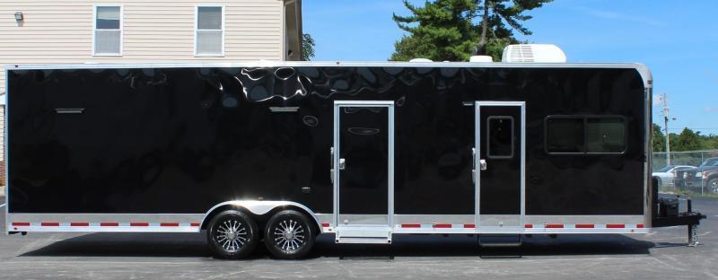 <b>NOW READY</b> 2021 32' Millennium w/12'Long Dinette Living Quarters w/Extra Height Car Trailer