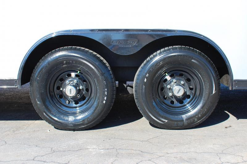<b>WEEKLY SPECIAL NOW READY! </b> 2021 24' Millennium Scout Race Trailer Lighted Wing & Black Out Pkg.