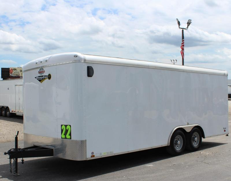 <b>Pre-Owned</b>  2017 22' Cargo Mate Blazer Trailer