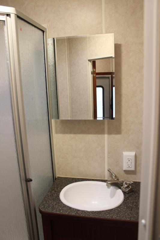 2021 44' Millennium Living Quarters 12' Sofa +8'/Large Bath w/Large Corner Shower Tapered Nose